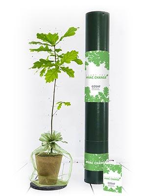 Plant for HVAC change