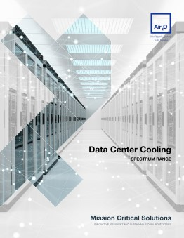 Air2O Data Centre Cooling Range