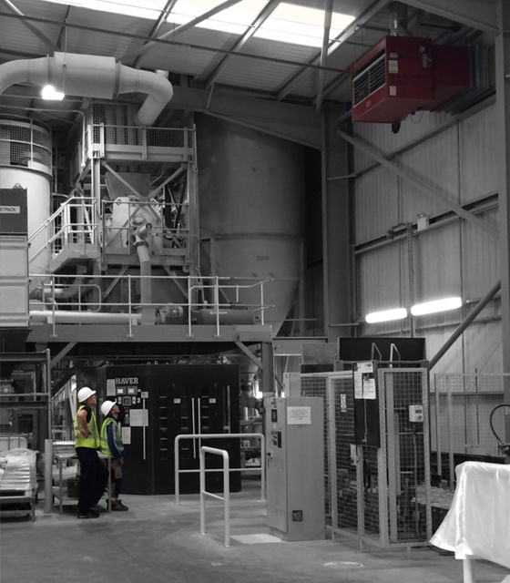 Controlled environments in Food & Beverage production facilities