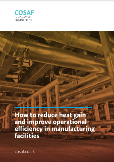 How to reduce heat gain and improve operational efficiency in manufacturing facilities